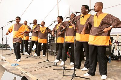 Ladysmith Black Mambazo &copy S.Gordon 2005