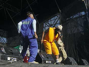 Mzekezeke at the Youth Day Celebrations, Grand Parade, Cape Town. &copy Eugene Arries