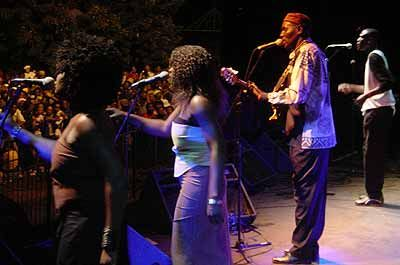Oliver And the Black Spirits at Macufe